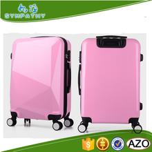 Fashion ABS+PC trolley suitcase aluminum luggage