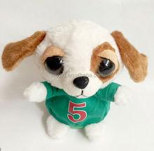 plush stuffed dog toys with big nose/New Arrival Ty Big Eyes Electronic Stuffed Animals