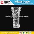 altos claro florero de cristal caliente venta de florero de vidrio para arreglos florales