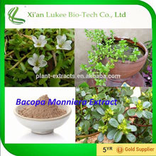 Chinese manufacture Brahmi herbs extract/ Bacopa Monniera extract powder