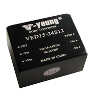 15W 24V to 12V step down dc dc converter