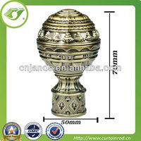 Curtain accessory,arts and crafts curtain rod finial,art with curtain rod finial