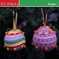 4inch serape Christmas tree balls Christmas ornament dropshipping