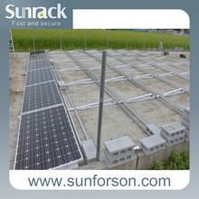 solar panel mounting ballast type