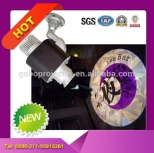 Outdoor 10 wattages advertising LED gobo projector with zoom