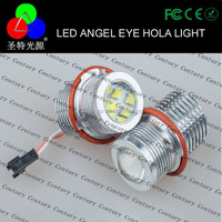 LED Headlight 60W Angel Eye Halo Light 5-Series E39 E53 E60 E63 E64 E65