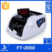 Portable note counting machine banknote euro