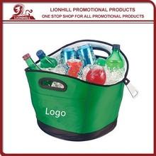 2015 Best Selling Plastic Wine Bottle Cooler Bag
