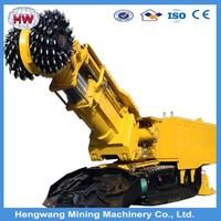 Coal roadheader with single arm/heading machine