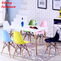 Comfortable funky design wholesale DSW plastic chair (factory manufacturer)