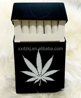 good quality for 25 pack silicone cigarette case with logo imprint