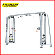 Adjustable cable crossover gym