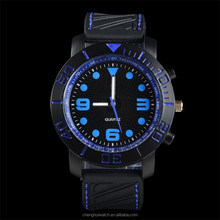 Top sale brand Vogue sports Silicon luxury military quartz wrist wristband men watches led digital watch