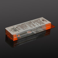 custom food grade acetate clear box packaging for biscuit with logo made in china