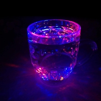 water activated led light cup for promotional gift