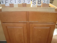 Fashionable hotsell wooden plate rack kitchen cabinets
