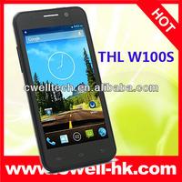 4.5 inch IPS Screen mtk6582M quad core phone thl w100s