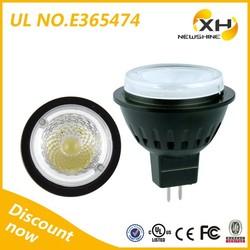 3000K Warm White AC/DC 12V 4W MR16 Mini LED Spot Light, COB MR16 LED Spotlights