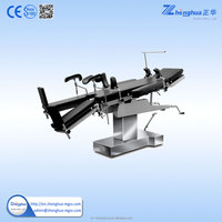 medical device stainless steel patient sick table for operation room use