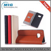 For samsung galaxy S6 Lichee pattern PU leather wallet case Cell phone case, For Samsung S6 or For Samsung S6 edge