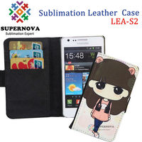 Printable Leather Flip Case for Samsung Galaxy S2 i9100