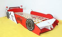 kids wood car bed