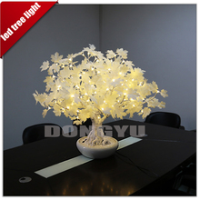 artificial wholesale flowers plant potting LED festival lights for birthday party decorations
