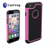 Ballistic Shell Gel Rugged Silicone Protector Impact Shock Cover Case for Iphone 6 6s ;Cell Phone Accessories For Iphone 6