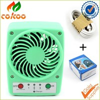 Summer Cooler Cooling Plug and play USB Portable Fan Desk Mini Electric Rechargeable Fans for Indoor & Outdoor Camping Traveling