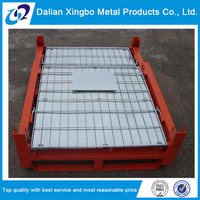 new arrived collapsible metal storage box pallet