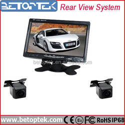 7 Inch TFT LCD Car Reverse Monitor Special Car Rear View Camera for Honda city