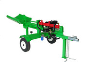 Hot Selling Electric Horizontal and Vertical Log Splitter 20ton,Double Valve Control