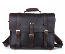 2015 genuine leather briefcase/ men briefcase tote bag/business handbags for men