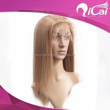 Unprocessed Brazilian Virgin Human Hair Full Lace Wig Brazilian Remy