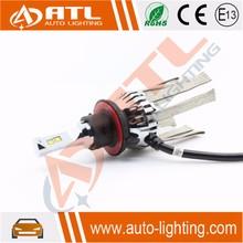 ATL Hottest led headlight for snowmobile led zoom headlight