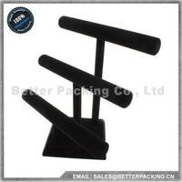 DS001H Black Velvet Detachable Jewelry T-Bar Bangle Bracelet Display Stand