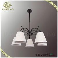 2015 new design fabric lamp shades pendant light fixture