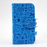 Very hot sale flip leather case for lg e400 optimus l3, in stock