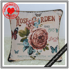 beautiful rose and butterfly design decorative cushion covers bulk