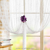 fashionable window or door string curtain/line screens with beads