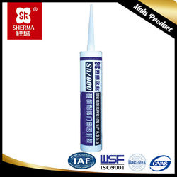 300ml middle high quality acetic cured Silicone sealant for glass
