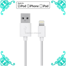 MFI Cable C48 Connector 1M 8 Pin power charging for apple iPhone 5s 6Plus iPad mini