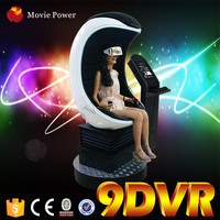 Including outside cabin/box 9d movies cinema 9dvr 3d glasses 9d cinema simulat