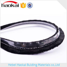 Factory Supply Durable In Use Alibaba Suppliers Aluminum Door Seal Brush With Fin