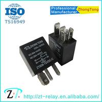 12v 24v 4pin 5pin auto relay earth fault relay