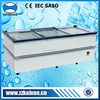 Strong freezing supermarket display freezer for sale