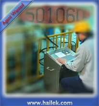 HAILEK-8400W cij inkjet printer white ink coding printing machine barcode