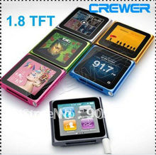 2014 hotsales MP3 MP4 video player 8gb