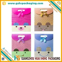 High-end Festival Lucky Paper Gift Bag for Oversea Customers