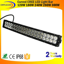 "Factory direct! 120w 180w 240w 288w 300w 312w 22"".31.5"".41.5"" ,50"",52"".54"" spot flood combo curved LED light 12v car"